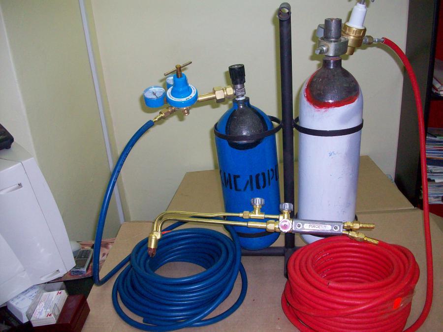 Как сделать кислородное оборудование